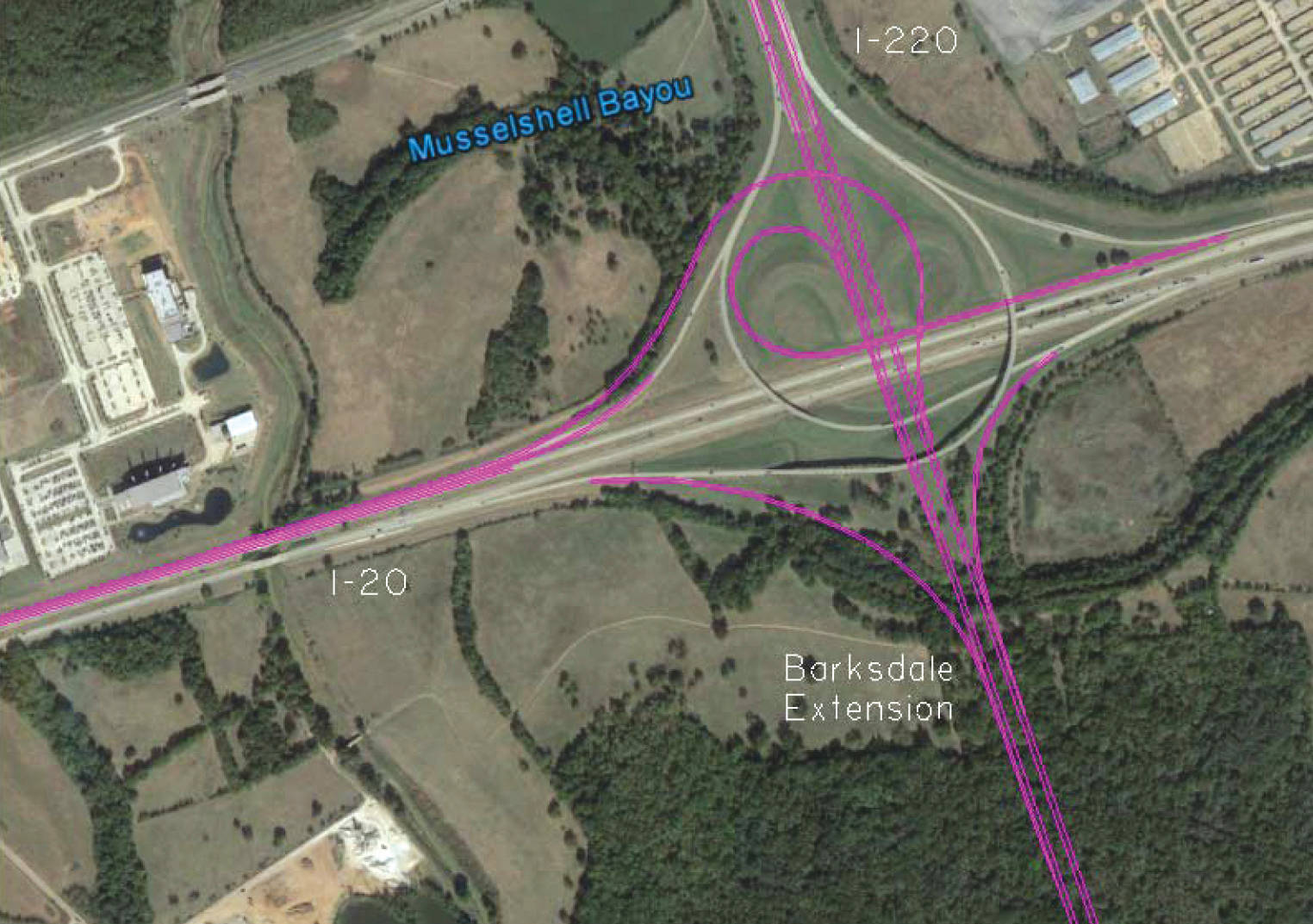 I 20 Louisiana Map.Overwhelming Response To Dotd S Design Build Barksdale Afb Access