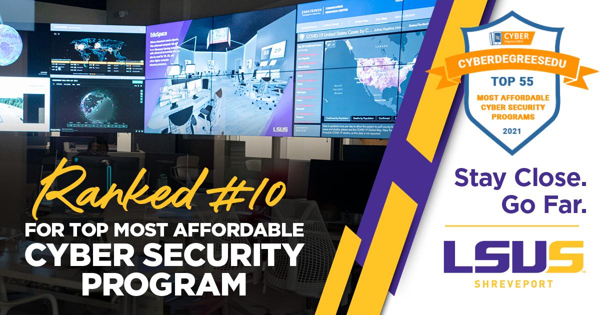 lsus cryber security program #1