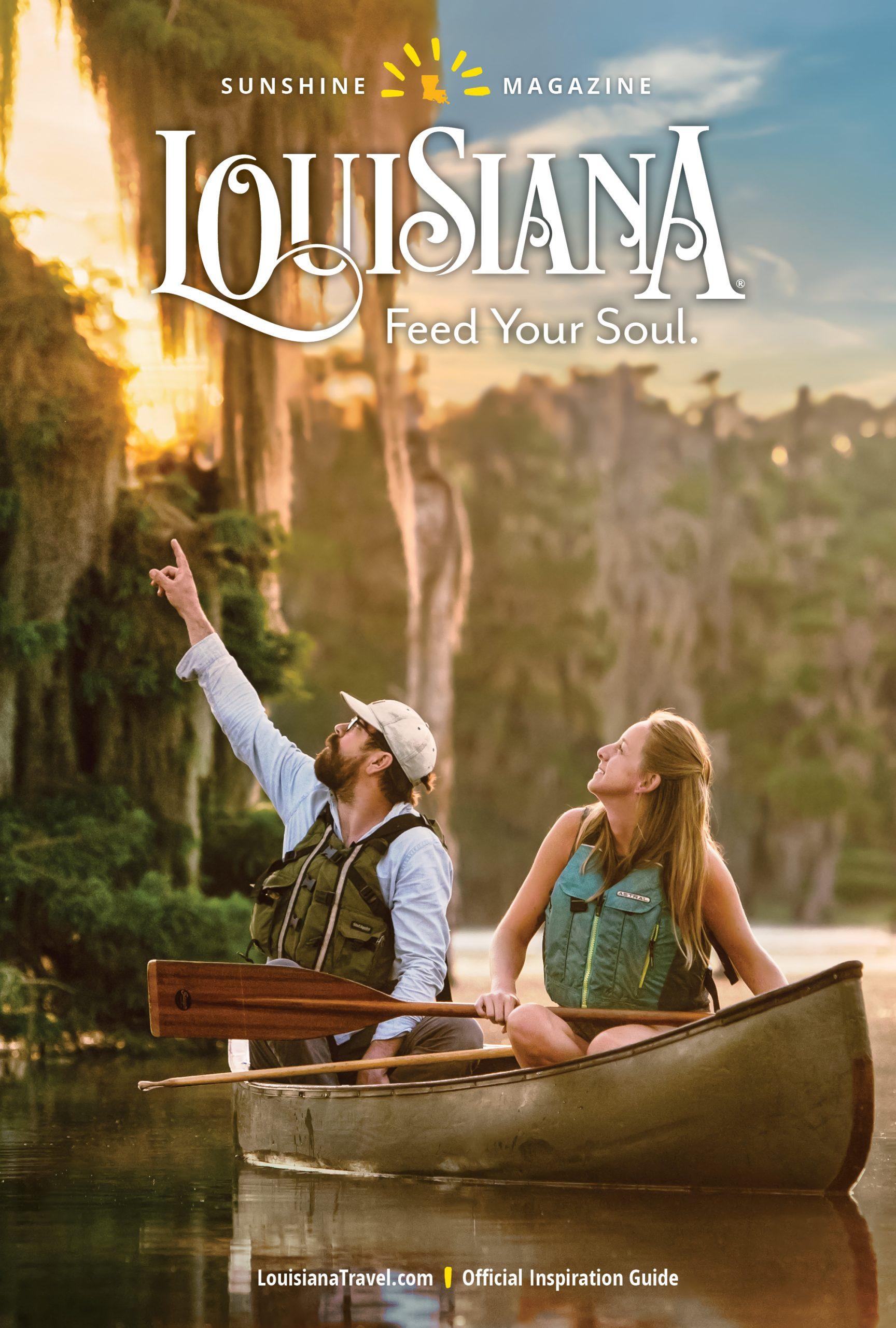 louisiana sunshine magazine cover