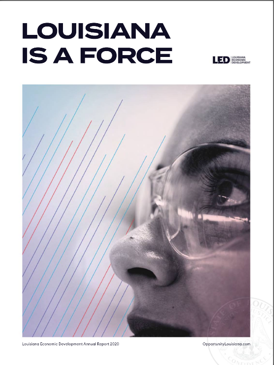 led annual report 2021 cover