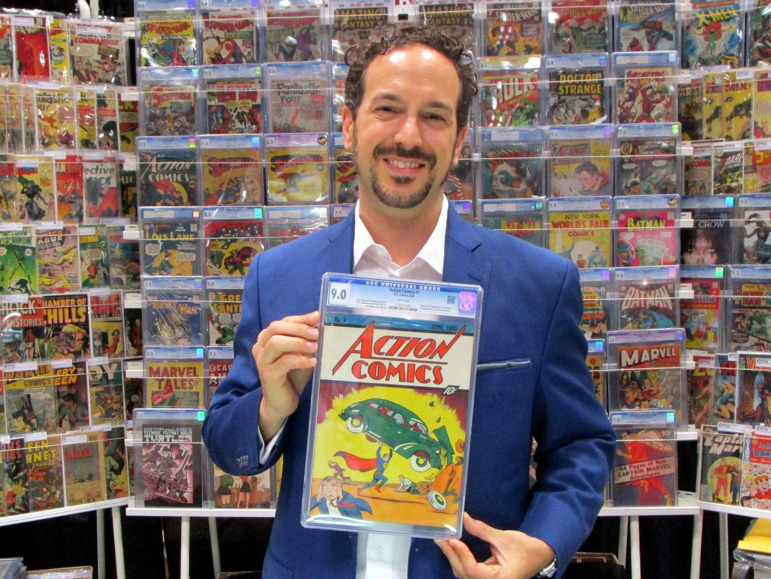action comics superman vincent zurzolo